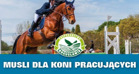 Musli dla koni pracujących 20kg Gospodarstwo Bogusławie