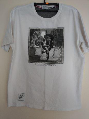 Koszulka T-shirt Outsidewear Biała L
