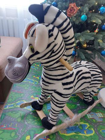 Детская зебра качалка
