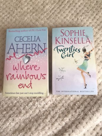 Cecelia Ahern, Sophie Kinsella на англ. по 200грн