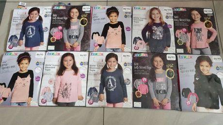 NOWE Bluzeczki dziewczęce 2 szt