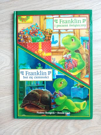 Książeczka Franklin i prezent świąteczny/ boi się ciemności