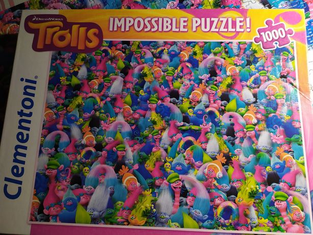 Puzzle impossible trolle trolls 1000