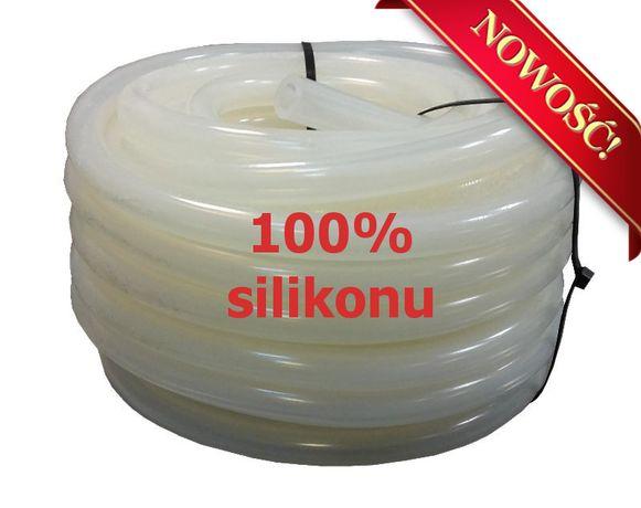 Przewód mleczny 100% silikonowy 14 x 24 mm 1 metr