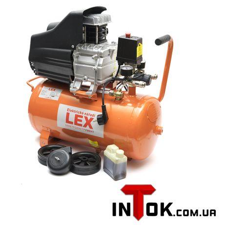 Компрессор LEX LXC 24 ресивер 24л Гарантия 1 год!!!