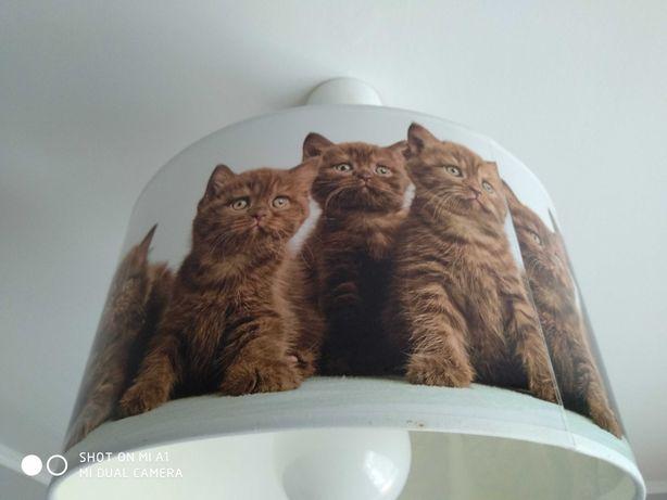 Żyrandol kotki do pokoju dziecięcego