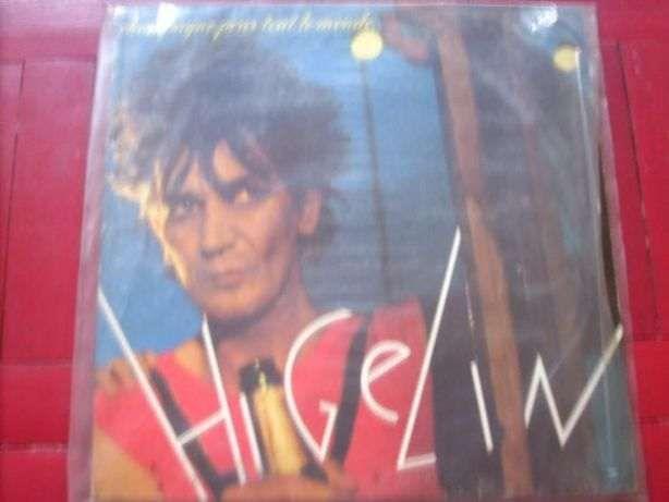 Lp vinil (2) música francesa (Higelin e vários)