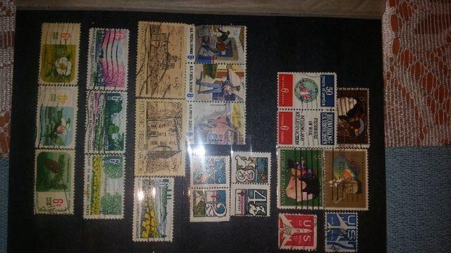 znaczki pocztowe znaczek pocztowy klaser kolekcja swiat USA