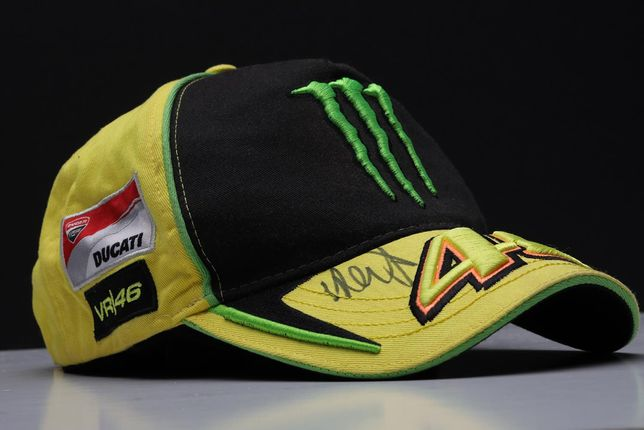 VR46 VALENTINO ROSSI Autograf z Moto GP Le Mans 2012 VIP Ducati