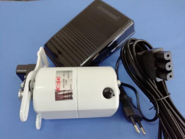 Kit motor, pedal e correia máquina costura - Novo