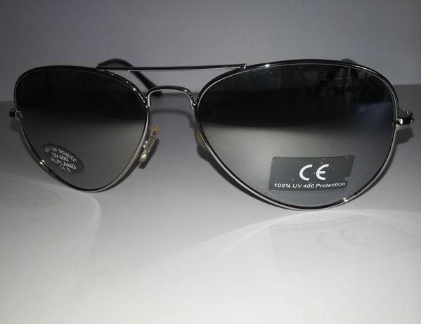 Солнцезащитные очки Alpland (зеркальные, капля), UV 400