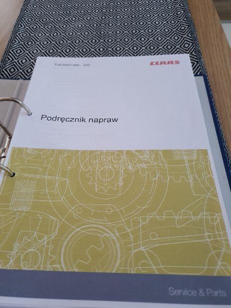 Claas Tucano 480-320 instrukcja napraw po POLSKU!