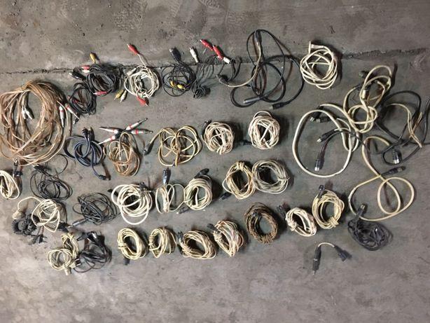 Провода шнуры для колонок микрофона усилилителя