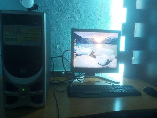 Компьютер ASUS + 2 Монитора.