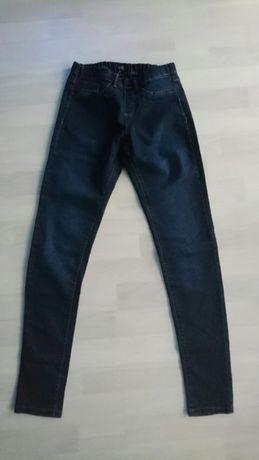 Spodnie jeansowe rurki jegginsy dżinsy F&F niebieskie