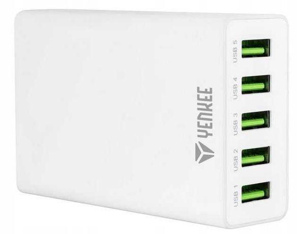 Stacja ładująca na 5 portów USB Yenkee YAC 3005WE Ładowarka
