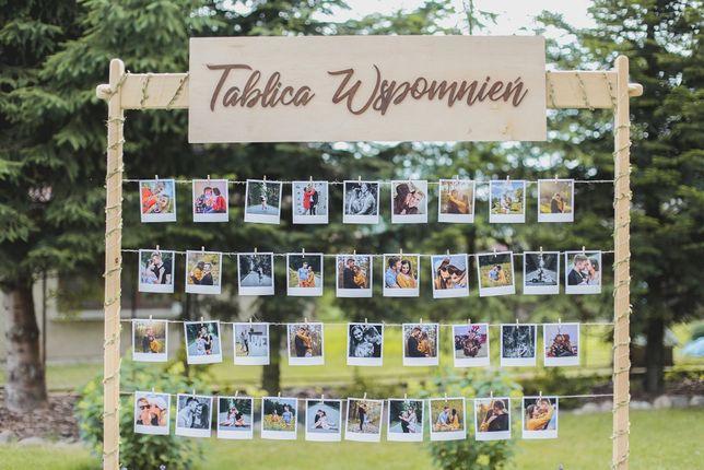 Do wynajęcia TABLICA WSPOMNIEŃ na wesele   imprezy okolicznościowe