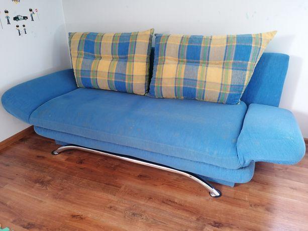 Sofa kanapa wypoczynek łóżko + fotel