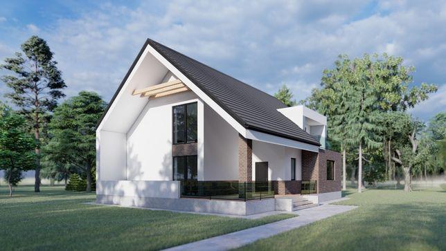 Проект дома 3000 грн. TS-project дешево