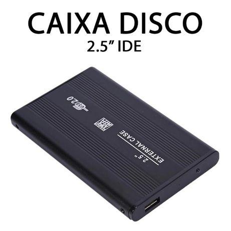PC - Caixa Disco Externo 2.5 - IDE - NOVO