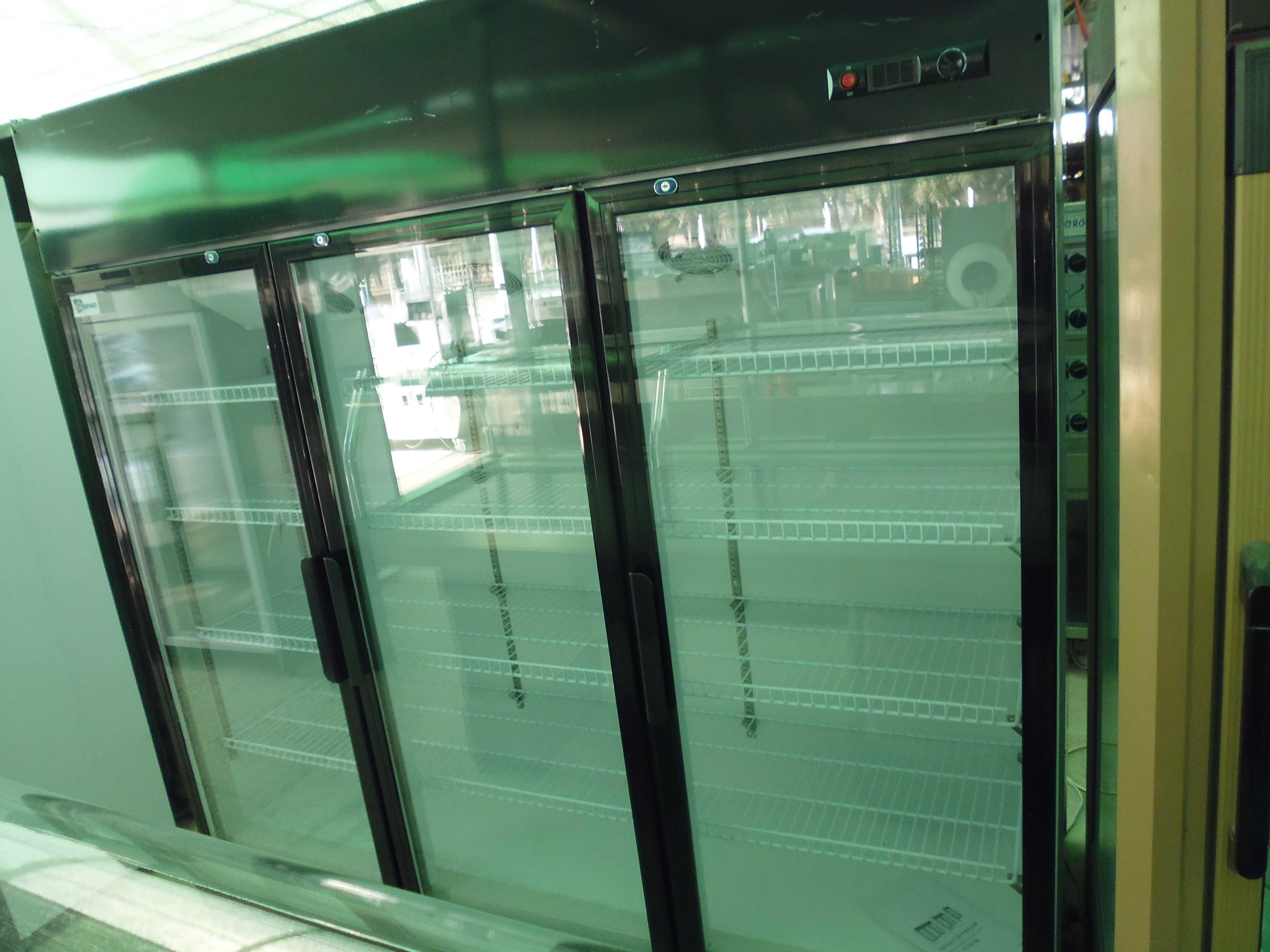 Frigorifico 3 portas em vidro