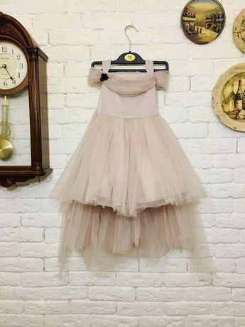 Платье детское вечернее на 3-4 года