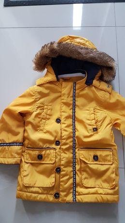 Kurtka zimowa mayoral 98 żółta