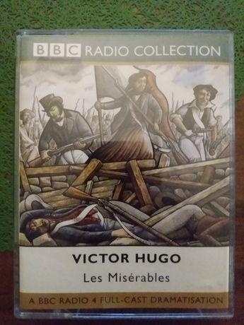 Nędznicy/Les Miserables V. Hugo kaseta magnetofon