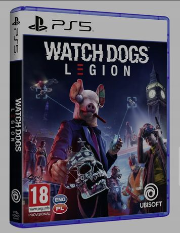 Watch dogs Legion  na PS5