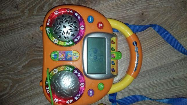Grający magnetofon dla dzieci, megafon , gry