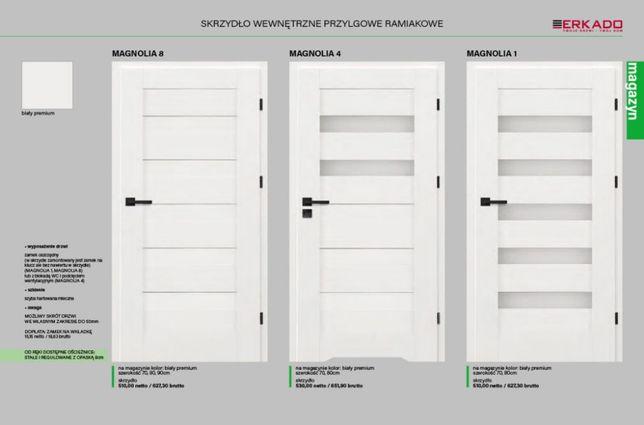 Drzwi Erkado Magnolia Premium Białe