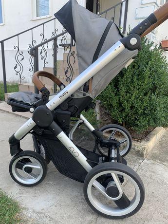 Mutsy EVO Urban Nomad 2в1 универсальная коляска+дождевик в подарок