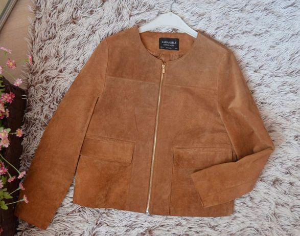 Куртка , натуральная замша ZARA