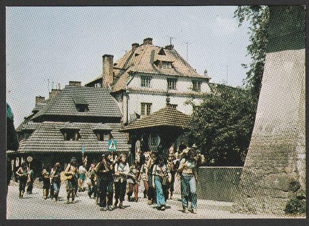 pocztówka - Kazimierz Dolny 1975 - rynek