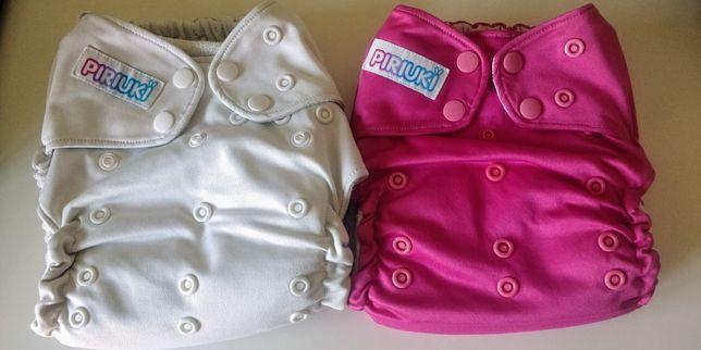 Fraldas reutilizáveis de bolso piriuki - ecológicas tamanho único