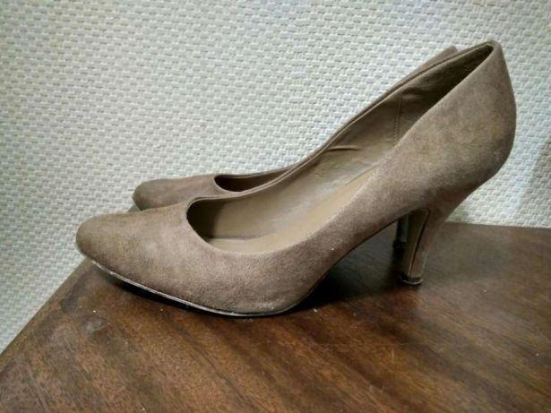 Туфли на каблуке размер 41 Graceland Бежевые