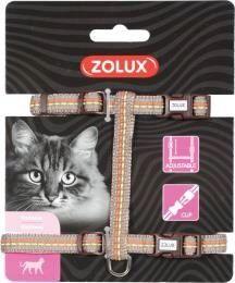 Zolux Szelki Tempo dla kota - brązowe 520033CHO