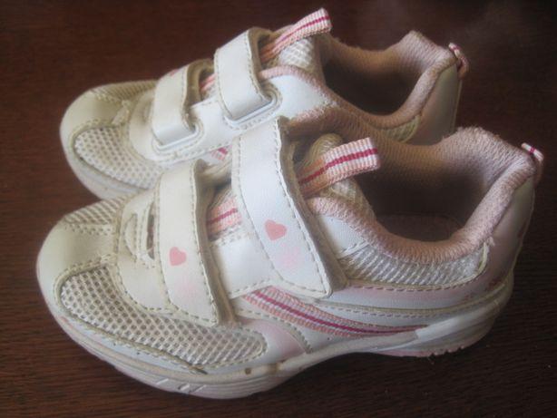 roz. 26 buty 17 cm adidasy dla dziewczynki na rzepy GEORGE