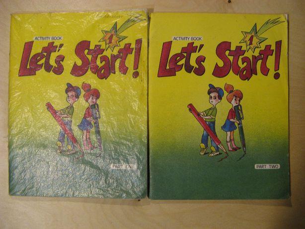 Let's start! 1. Activity book. Parts 1, 2. Англійська мова