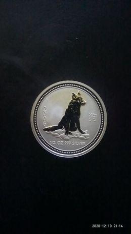 продам банковские серебряные монеты