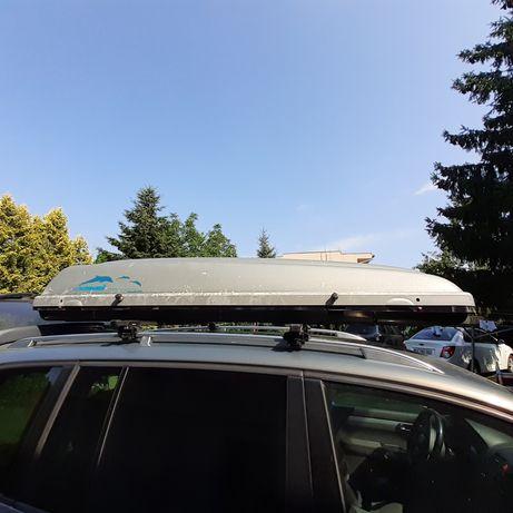 Box dachowy 460 l trumna belki bagażnik