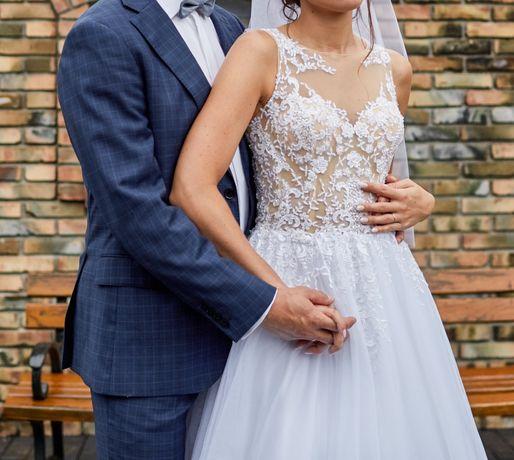 Sprzedam suknię ślubną Annais Bridal ELSA w salonie cena 3900