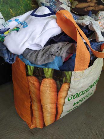 Paka/torba ubrań dla chłopca 68-80