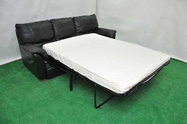Продам шкіряний диван (кожаный диван), Розкладний! Домашний, офисный