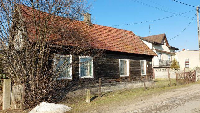 Dom z dostępem do rzeki Łobodno, gm. Kłobuck gratis druga działka.