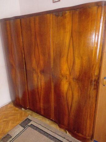 Szafa drewniana 3 drzwiowa lata 50-te dębowa