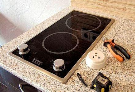 Электрическое подключение плиты,поверхности, духовки,бойлера в Одессе