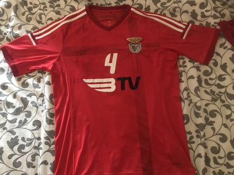 Camisola SL Benfica usada pelo jogador J. Borragan (andebol)
