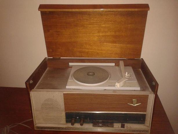 Rádio com gira discos - radiomarelli