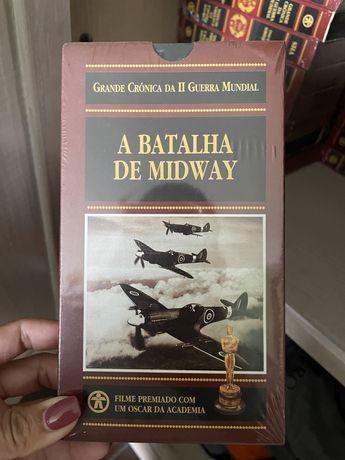 """Colecao VHS """"grande cronica da II guerra mundial"""""""